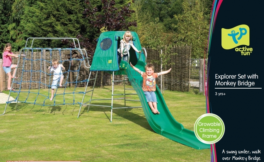 Playground accessories buy online all your play for Swing set bridge