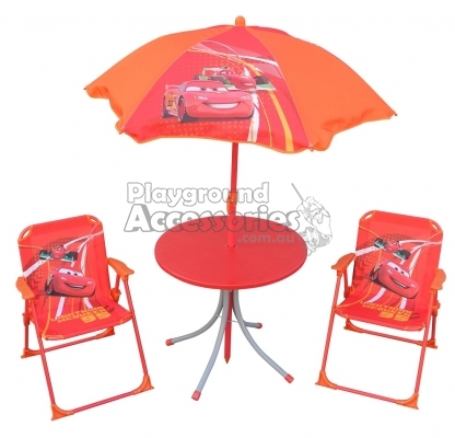 Disney Pixar Cars Table and Chairs Set u2013 Lightning McQueen  sc 1 st  Playground accessories & Disney Pixar Cars Table and Chairs Set u2013 Lightning McQueen - by ...