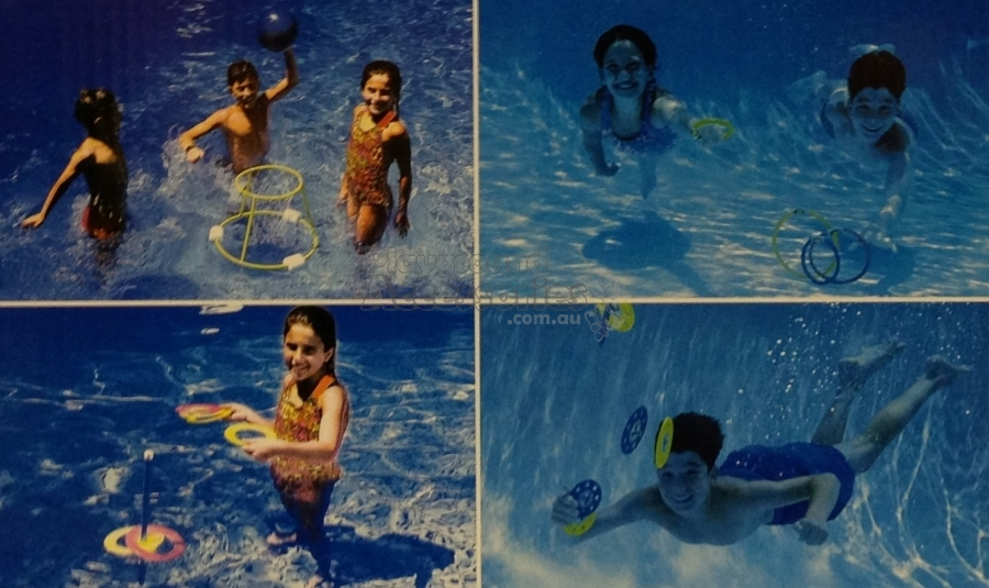 Swimline Four Game Family Fun Pack - by Playground ...